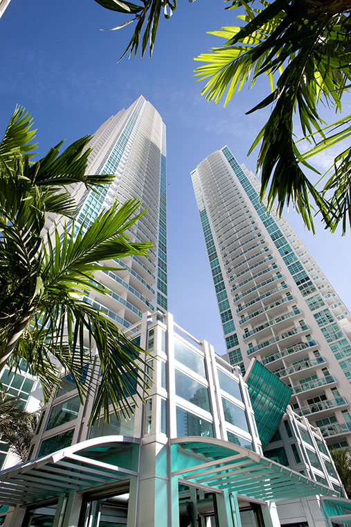 Things are always looking up at The Plaza Brickell